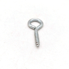 Carbon Steel Blue White Zinc Coated Self Tapping Eye Hook Screw with Wood Thread
