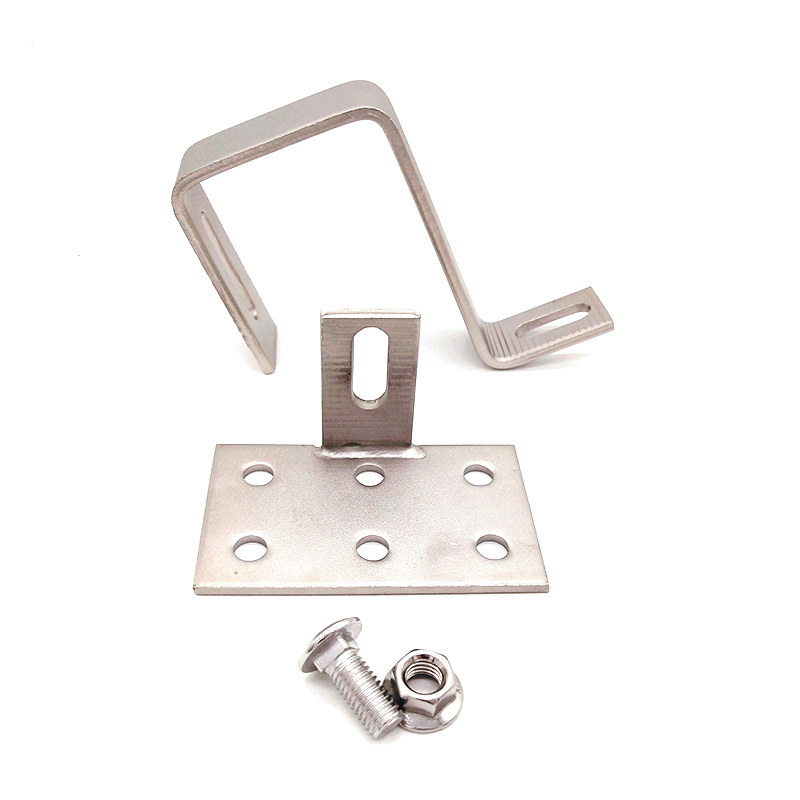 Stainless Steel SS304 Roof Hooks for Solar Panel Roof Top Mounting Hook