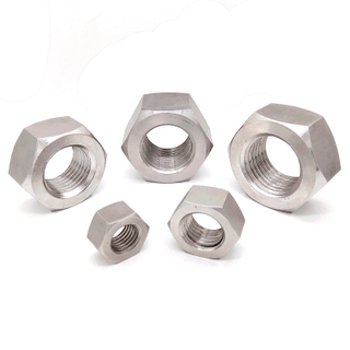 DIN934 Stainless Steel A2 A4 M20-M100 3/4-4' Metric Hex Head Nut