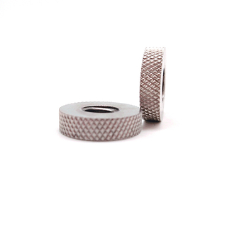 18-8 M4 M6 M8 M10 stainless steel Knurled thin Nut