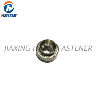 PEM Galvanized Steel Zinc Plated Press Self Clinching Nut