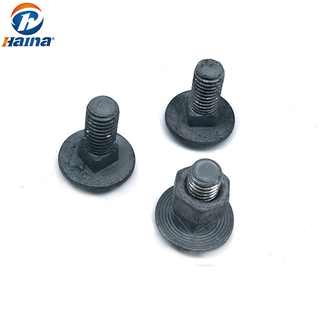 A2-70 Carbon Steel Hot DIP Galvanized HDG Round Head Square Neck Carriage Bolt DIN603 /608
