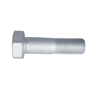 M16 M20 Carbon Steel HDG Transimission Tower Hex Bolt