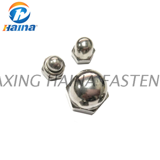 DIN1587 Stainless Steel A2-70 A4-80 Dome Acorn Nut (SS316 SS304 316L)
