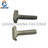 DIN 186 Grade 8.8 High Quality White Zinc Plated T Head Bolts