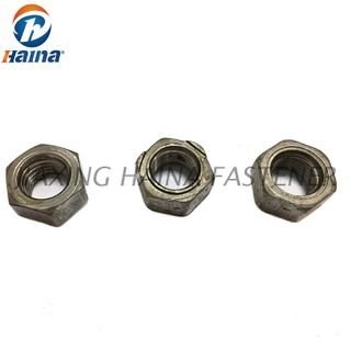 Carbon Steel M4 M6 M8 Plain Customized Hex Weld Nut