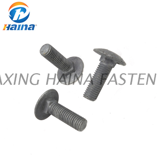 DIN603 Hot DIP Galvanized Gr8.8 Carriage Bolt