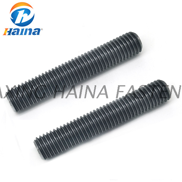 DIN967 carbon steel color 8.8 4.8 Grade Stud Bolts